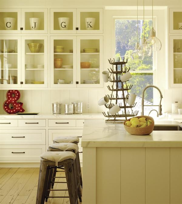 Kitchen Wall Wainscoting: The Kitchen Capitalizes On Its Abundance Of Natural Light