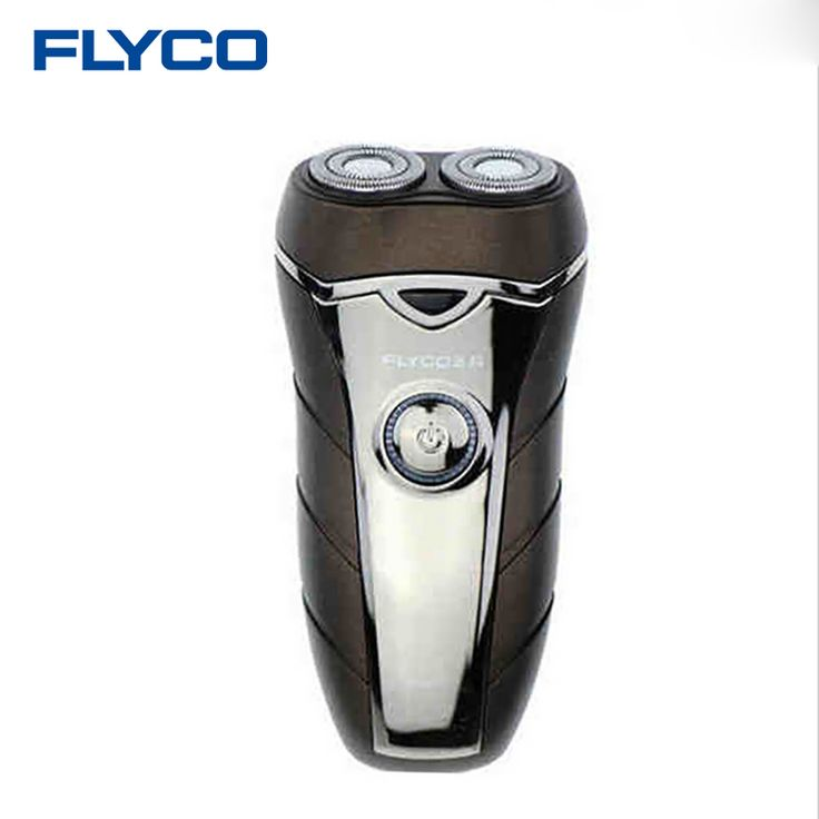 Flyco professional men's shaver with beard knife rechargeable 2 Floating heads Shaver Automatic Voltage barbeador eletrico FS877