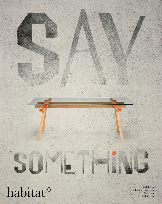 Creative Review - Now Say Something for Habitat