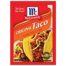 The Intentional Home: Homemade Taco Seasoning instead of using this MSG loaded package.  Equal to one packet.