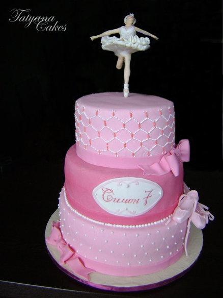 Best Ballerina Cakes Images On Pinterest Ballerina Party - Ballet birthday cake