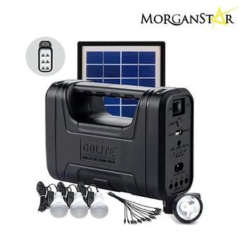 Buy MorganStar GDlite GD-8007 Solar Lighting System (Black) online at Lazada. Discount prices and promotional sale on all. Free Shipping.