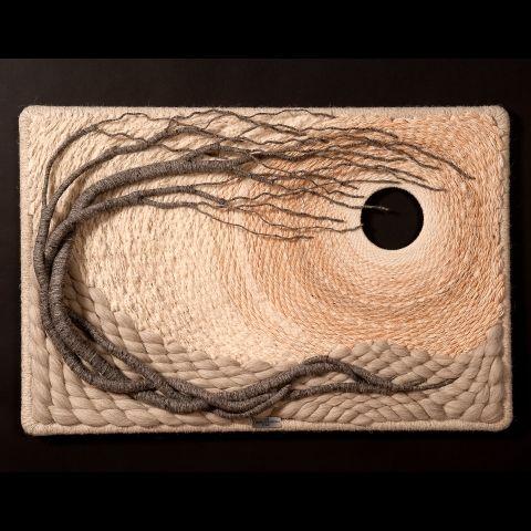 Gloria McRoberts: fiber sculpture #1145