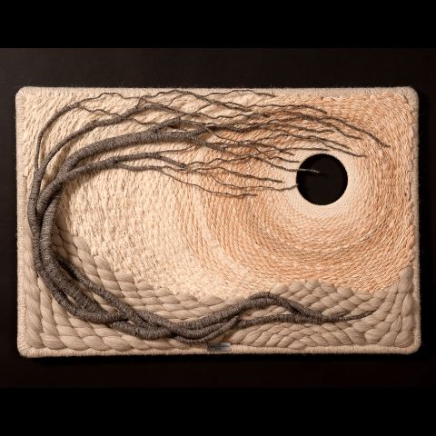 Gloria McRoberts: fiber sculpture #1145