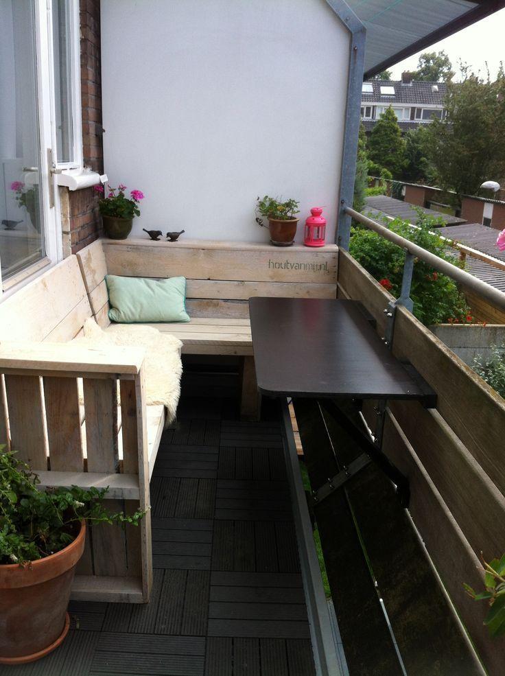 Balkonmöbel Holz Von Mir Balkon Design Balkon Balkon