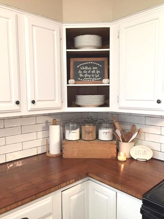 Kitchen Cabinets Update Ideas On A Budget and Pics of Items Put Top