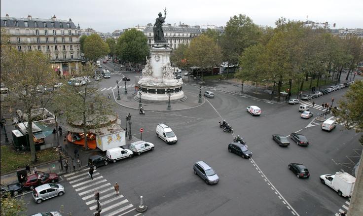 bastille area france