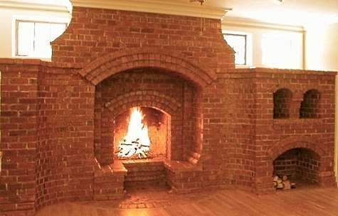 38 best images about masonry on pinterest outdoor for Indoor fireplace plans