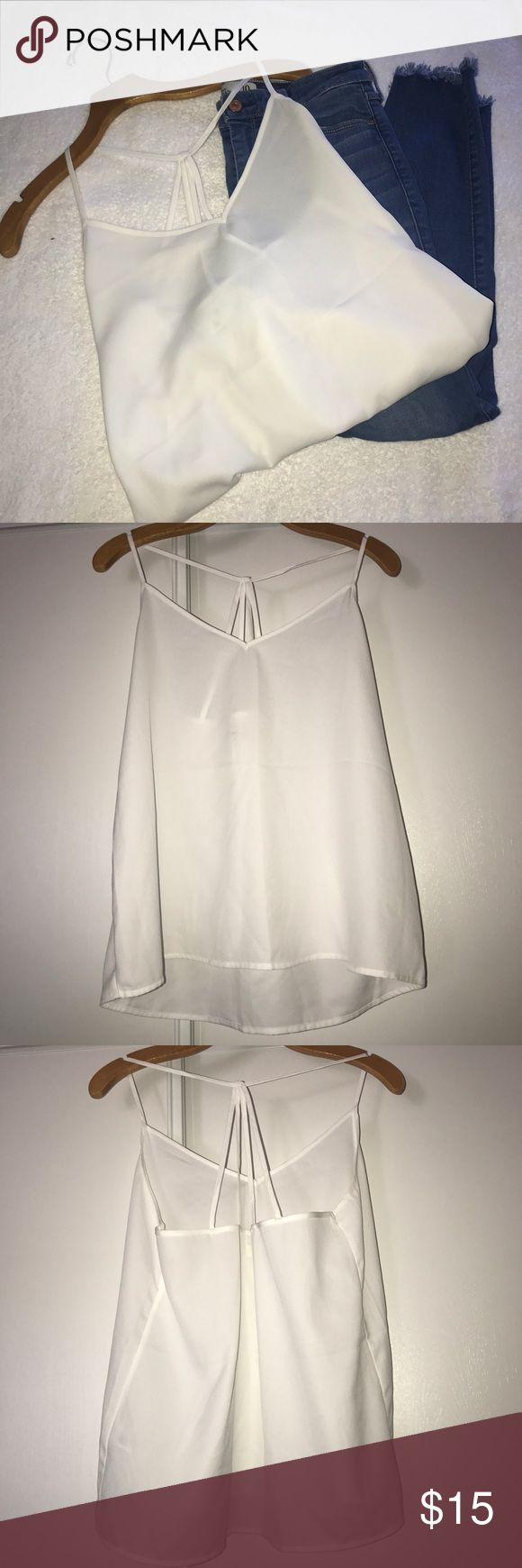 NWOT A&F White Blouse A&F white blouse. Brand new without tags. Size large. No trades and no modeling. Abercrombie & Fitch Tops Blouses