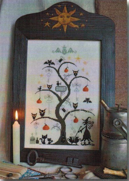 O Halloween Tree - Cross Stitch Pattern