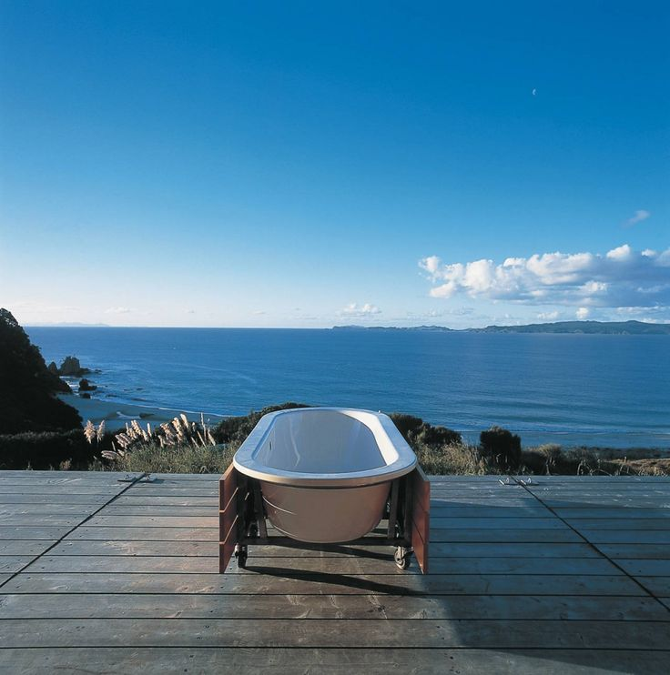 Coromandel Bach, New Zealand by Crosson Clarke Carnachan Architects