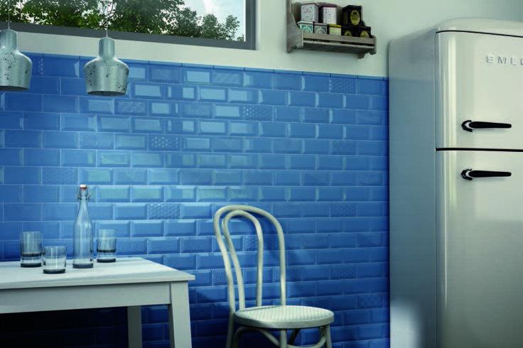 EQUIPE Metro Blue 7, 5x15 / Metro Paradise Blue 7, 5x15