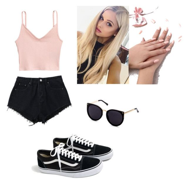 Informal by mariadallasaragon on Polyvore featuring polyvore, moda, style, J.Crew, Static Nails, fashion and clothing