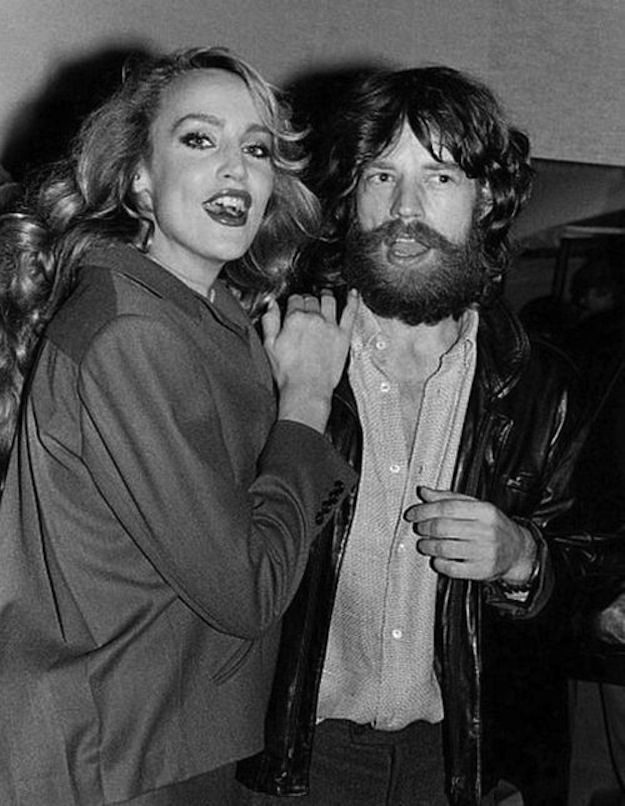 Jerry Hall & Mick JaggerMusic, Beards, Jerry Hall, Famous People, Vintage Celebrities, Rare Photos, Famous Face, Mick Jagger, Couples