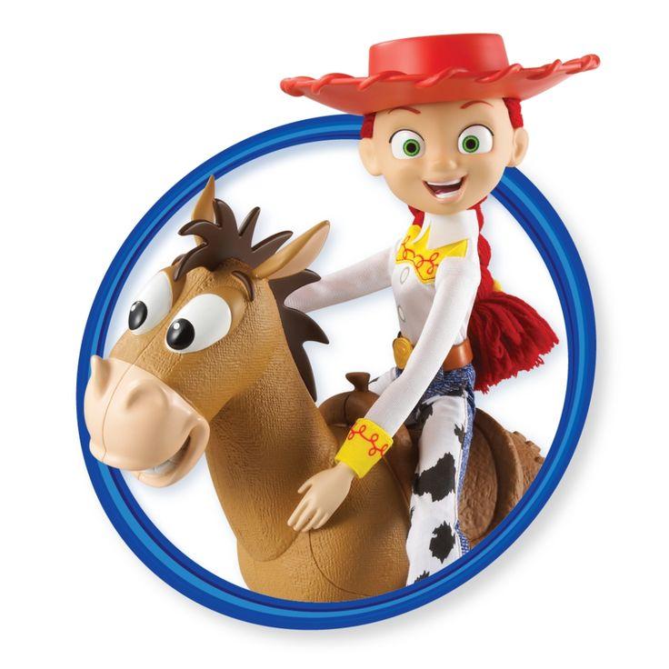 Jessie From Toy Story Bullseye