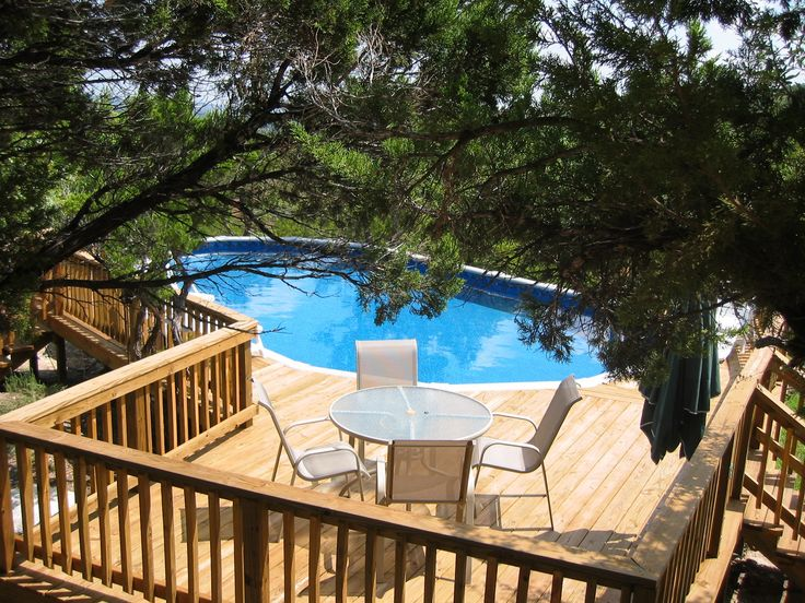 25 best ideas about above ground pool prices on pinterest for Above ground pool decks for small yards