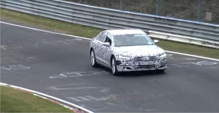 Audi A8 Nürburgring