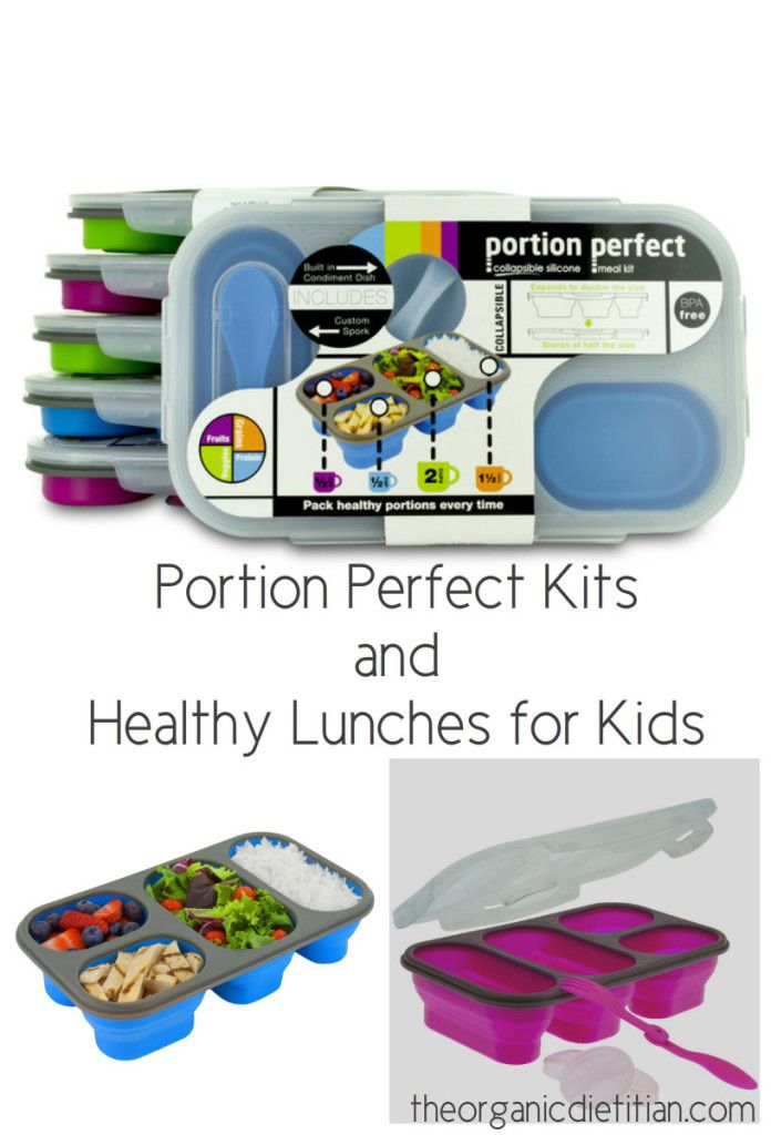 Portion Perfect Kits and Healthy Lunches for Kids plus a GIVEAWAY - The Organic Dietitian