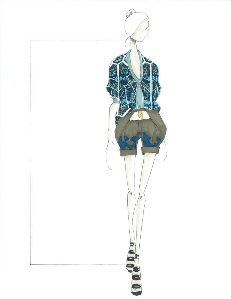 Spring '13 Concept Sketch