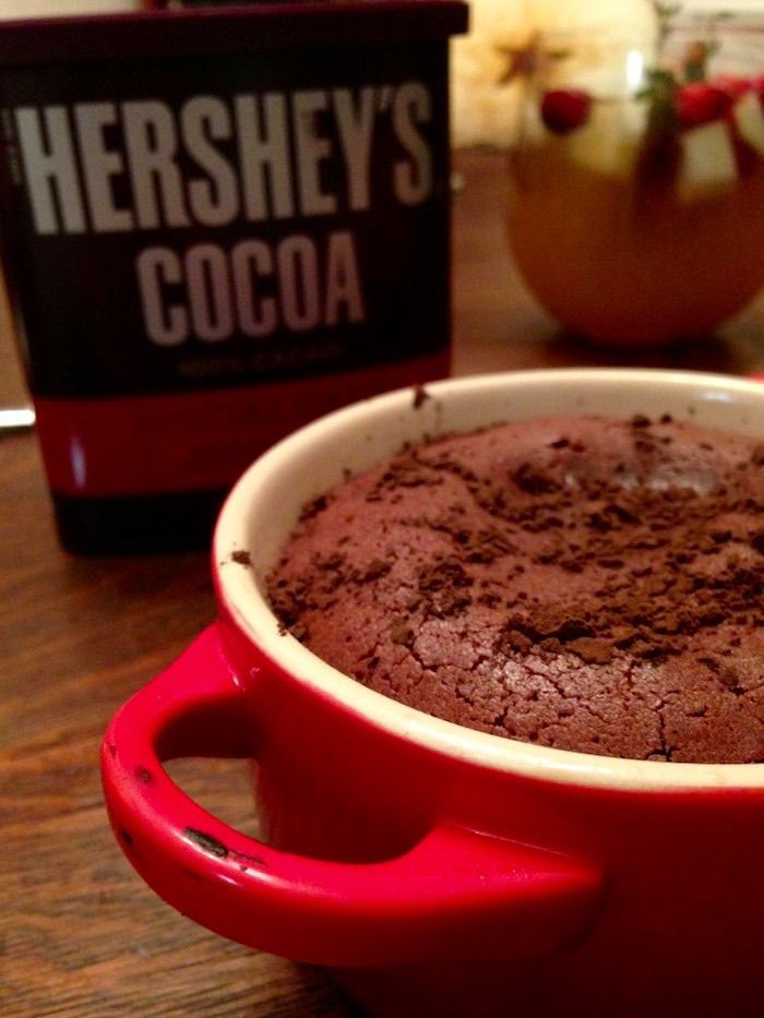 Le Creuset Mini Cocotte Chocolate Lava Cake