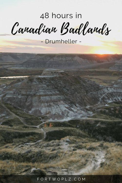Travel Canada | Alberta | Badlands | Dinosaur Fossils | Road Trip | Drumheller