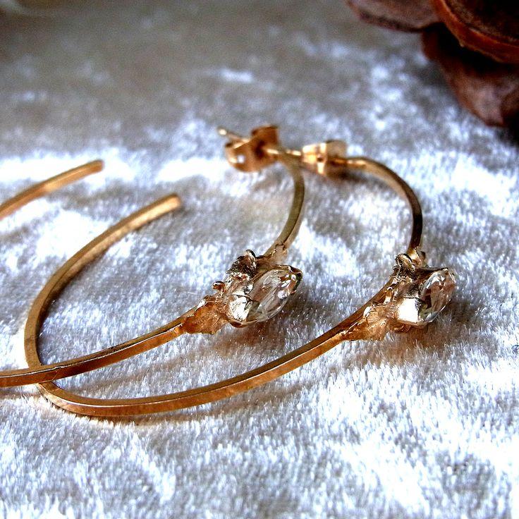 <2307:Cristina Zazo MARCHIONESS earrings GREEN AMETHYST-GD>