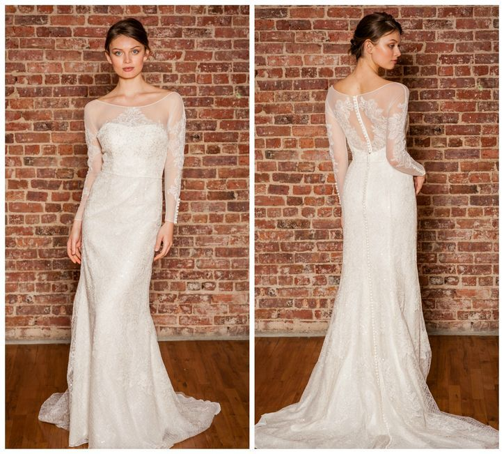 7 Newl Wedding Dresses With Jaw-Dropping Rear Views