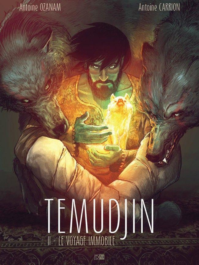 Temudjin -2- Le voyage Immobile | Une BD de Antoine Ozanam et Antoine Carrion  chez Daniel Maghen