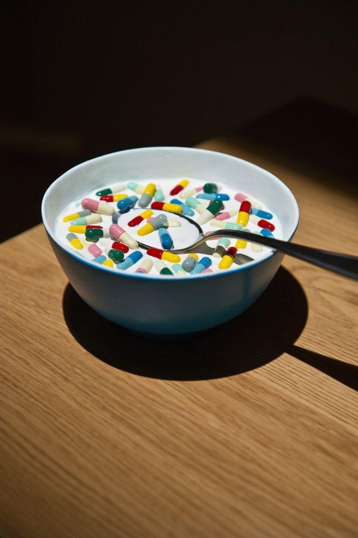 """""""Una pastilla al día"""" foto de foto de Geoff Hargadon, (Singapur / Reino Unido)."""