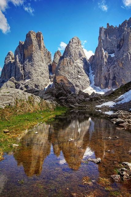 Mesmerizing view of Dolomites! #dolomites #mountains #italy