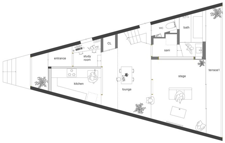 190 best images about irregular plans on pinterest house