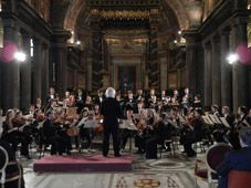 The Yale Institute of Sacred Music and Juilliard Historical Performance perform together in Rome.