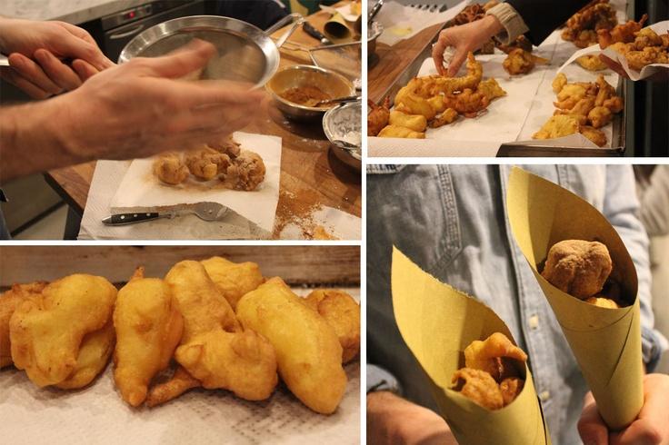 lezione sulle frittelle di mele - Tricolore - Urbanamente