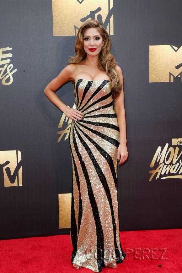 ON the Red Carpet Farrah Abraham Movie Awards 2016: The Best Dressed List