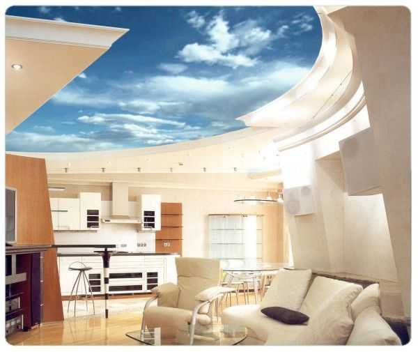 Stretch ceiling design ideas modern home interior design for Some interior design ideas