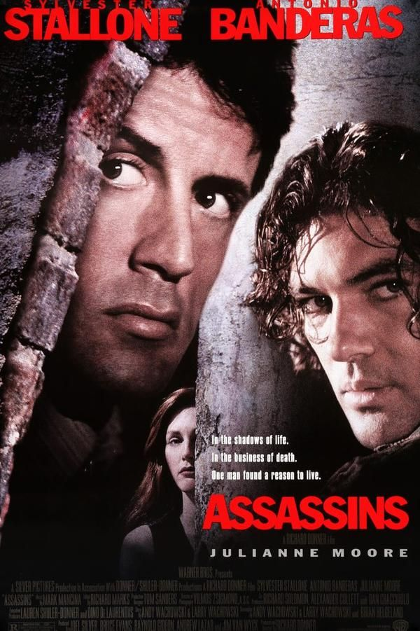 Assassins 1995 Assassin Movies Movie Posters Sylvester Stallone