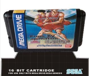 Sega 16bit MD карточные игры: От ТВ Анимация Slam Dunk 16 бит Sega MegaDrive Genesis игровой консоли