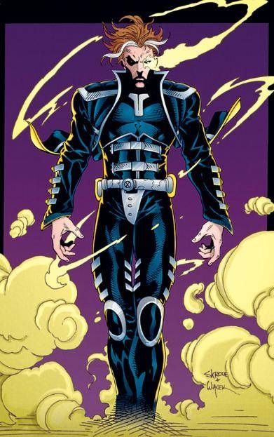 X-Man (Nathaniel Grey) (Earth-295) | art by Steve Skroce
