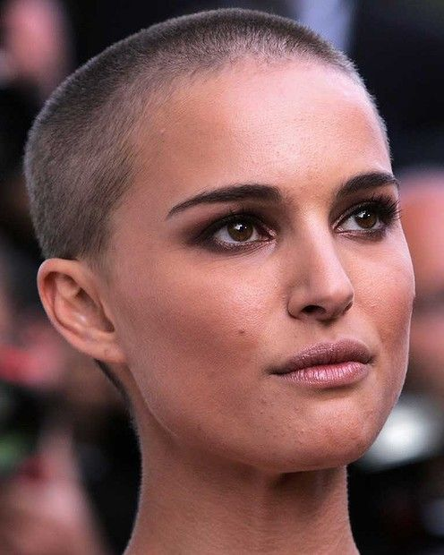 Natalie Portman skinhead