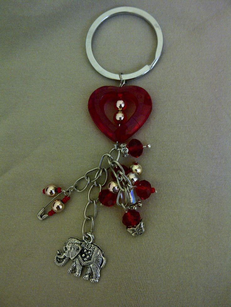 Another beaded key chain