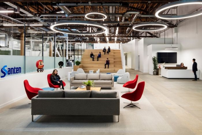 Kava Massih Architects design the offices forSanten Pharmaceuticallocated in Emeryville, California. Santen Pharmaceutical Co., headquartered in Osaka, Japan is a leading global opthamalic and rheumatologic pharmaceutical company with operations in…