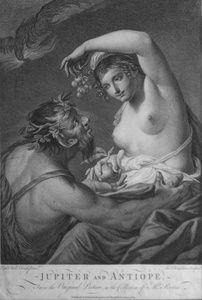 Jupiter and Antiope. | Sanders of Oxford