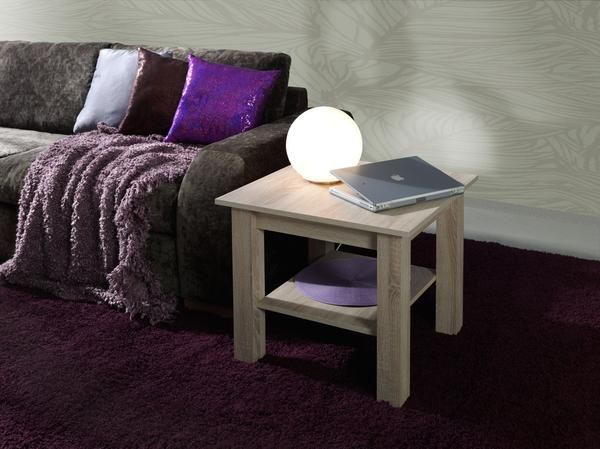 Coffee Table T35 Sonoma Effect Finish Also Available Wallis Plum Oak Chestnut Wenge Gl Pinteres