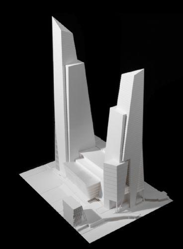 Kohn Pedersen Fox Associates: Projects: Hudson Yards Master Plan
