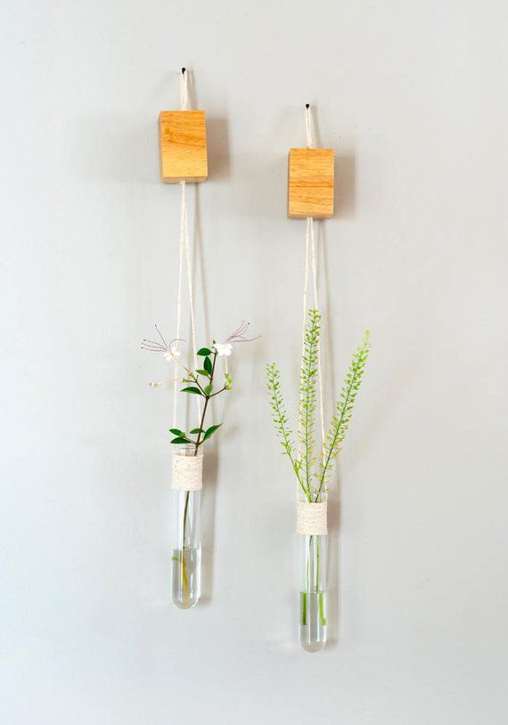 Wall Decor Set Hanging Vases Glass Wall Vase Wall Vases Hanging Flower Vase Glass Hanging Vases With Images Hanging Wall Vase Hanging Vases Wall Vase