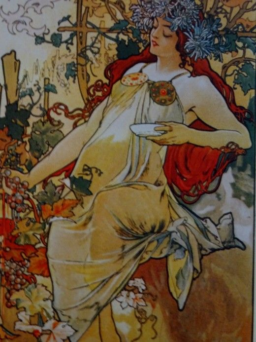 Alfons Mucha at the Gallery of Art, Prague - Image 22