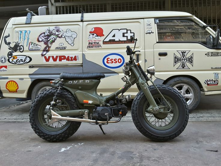Honda streetcub by Tcr speedbike.