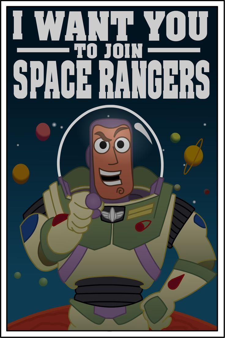 Space Ranger Poster  Toy Story birthday  Pinterest  Ranger, Poster