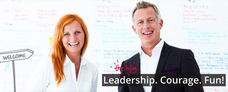 Leadership Courage Fun - our blog  brainwells.com/blog