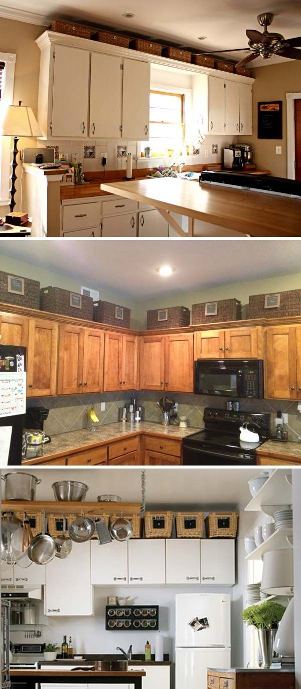 Decoration For Top Of Kitchen Cabinets